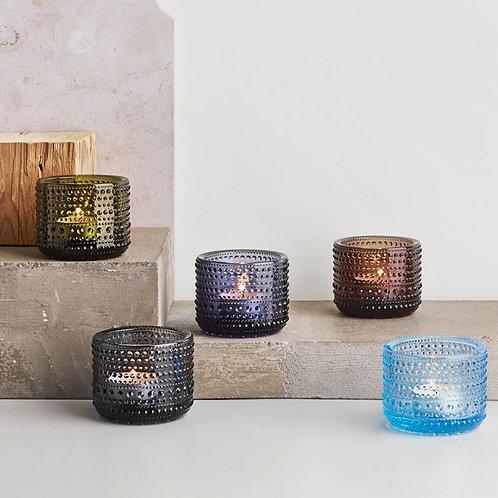 Iittala Kastehelmi Votive Candleholder 64 mm Aqua Karybu Shop Online