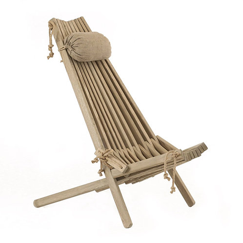 Ecofurn Ecochair Natural Wood Rope buy online