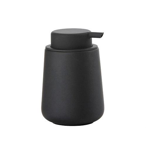 Zone Nova One Soap Dispenser, Black bath accessories luxury interior furniture tinos karybu shop online