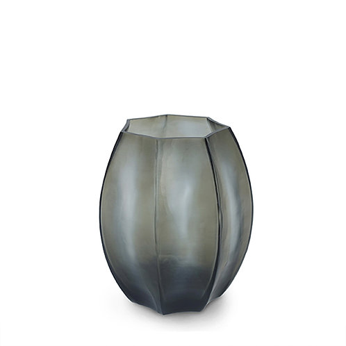 Guaxs Vase Koonam S Indigo/Smokegrey luxury interior furniture Tinos shop online karybu