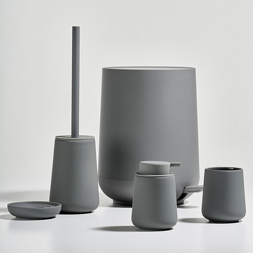 Zone Nova One Soap Dispenser, Grey bath accessories luxury interior furniture tinos karybu shop online