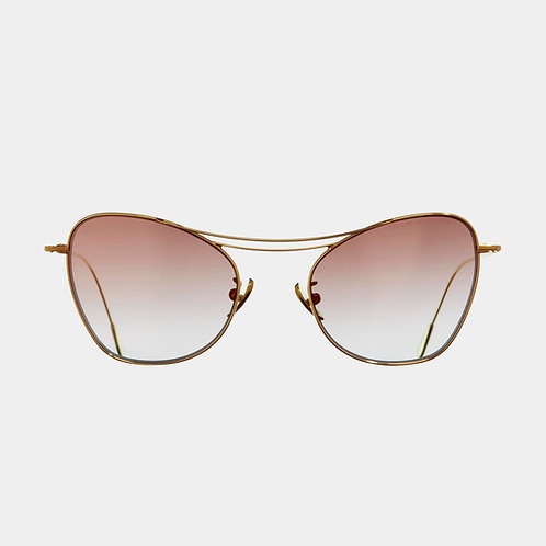 Cutler & Gross Sunglasses 1307GPL-01 Gold & Champagne Precious Metal collection luxury eyewear shop online Karybu