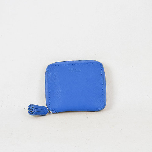 MI6 Leather Wallet Blue Bush Princess Luxury Ethical Fashion Karybu concept store shop online