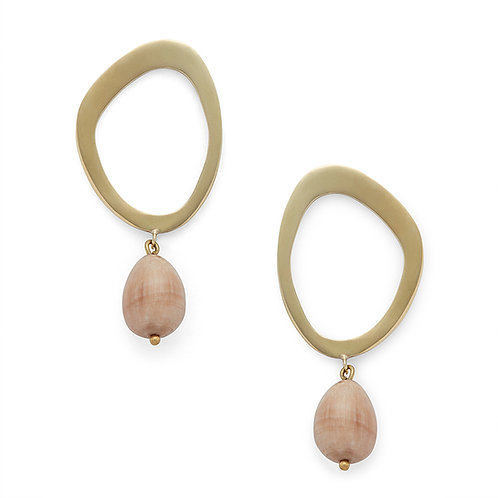 Soko jewellery Sabi Pearl Drop Earrings karybu luxury fashion shop online