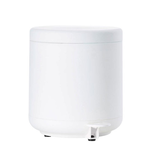 Zone Ume Pedal Bin, White bath accessories luxury interior furniture tinos karybu shop online