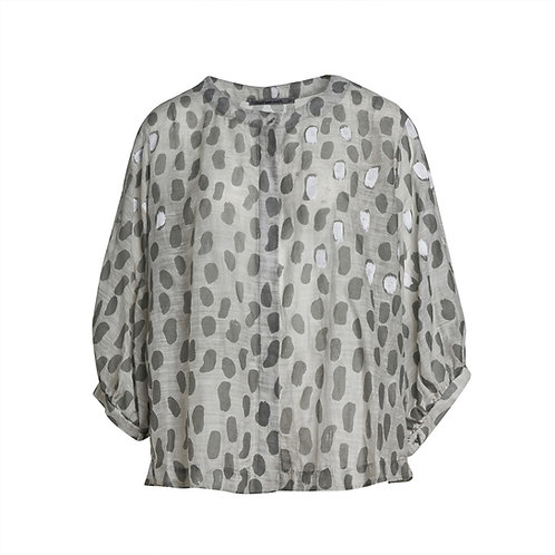 Transit Oversized Shirt - Grey Print women luxury fashion spring summer 20 shop online Karybu