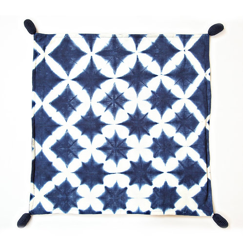 Indigo Cushion Cover 60x60 cm Luxury Interior furniture Tinos karybu shop online