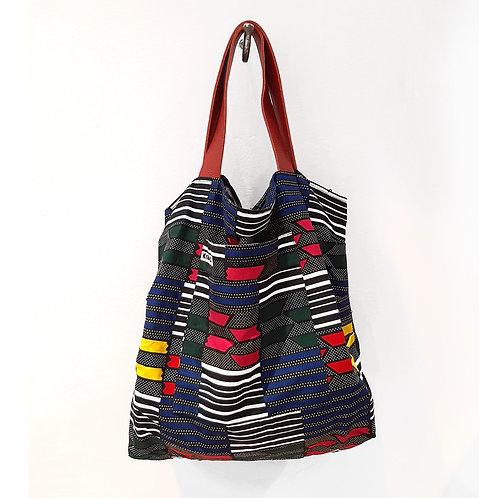 Kitenge Bag 2020 - Geometric Multicolor shop online luxury fashion karybu