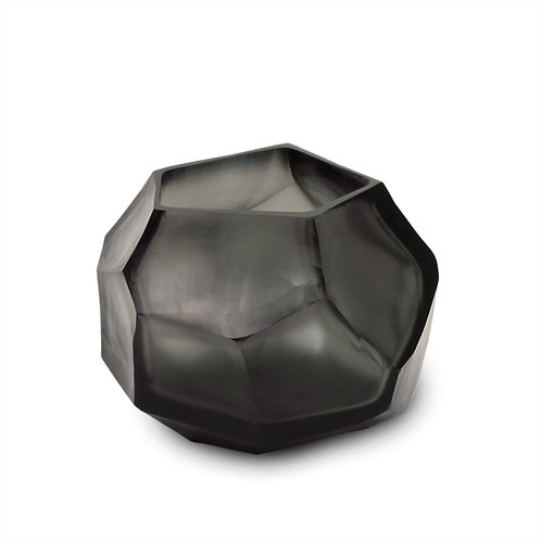 Guaxs Cubistic Tealight Indigo/Smokegrey luxury interior furniture Tinos shop online karybu