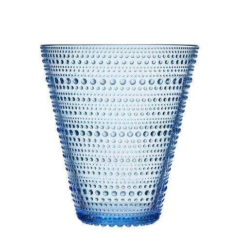 Kastehelmi Vase 154mm Aqua