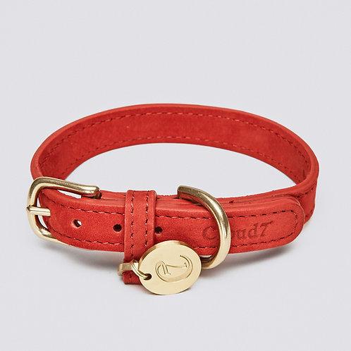 Dog Collar Tiergarten Cherry Red cloud7 Dog Accessories Pet luxury shop online Karybu