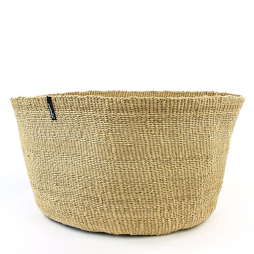 Mifuko One Colour Basket Kiondo XL Natural Luxury interior accessories natural Karybu concept store shop online