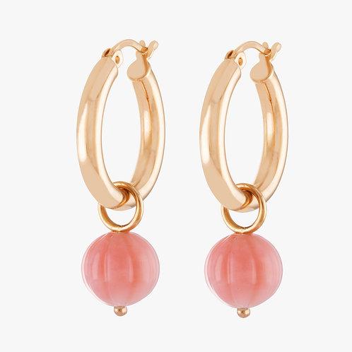 Sophistiquée Earrings No2 Orange Moonstone Nana Fink luxury jewellery jewelry shop online Karybu