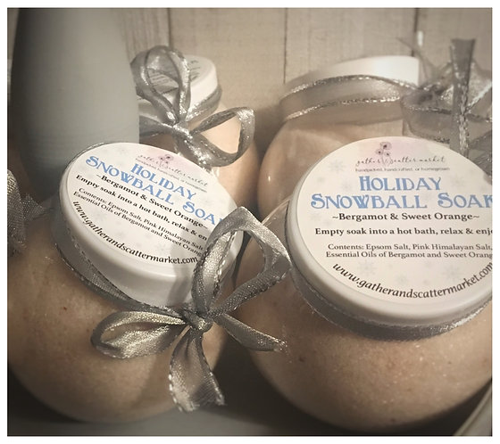 Holiday Snowball Soak