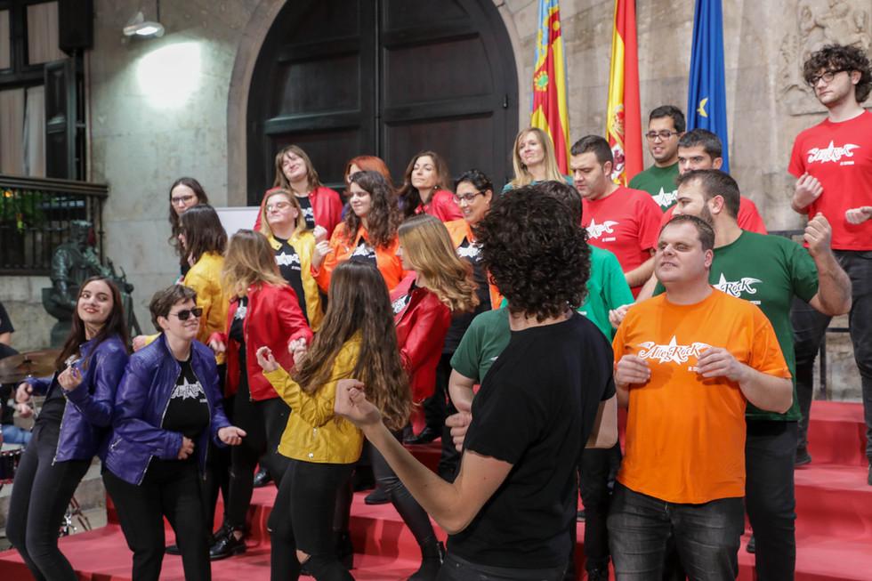 Coral Allegro ONCE Valencia - AllegRock