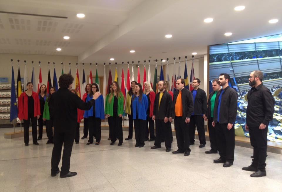 Coral Allegro ONCE Valencia - Parlamento Europeo