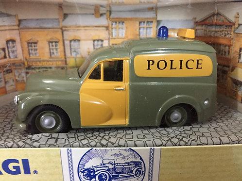 Green Police Van