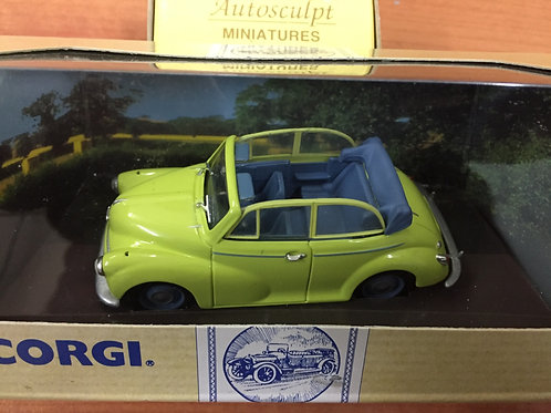 Corgi - Yellow convertible