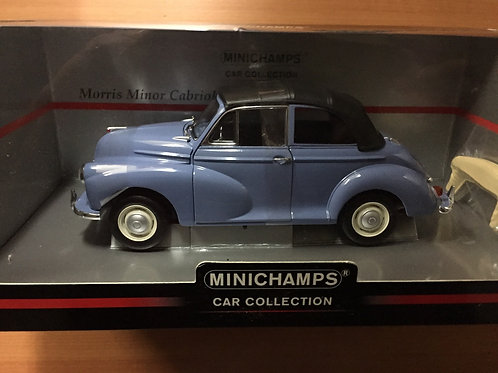 Minichamps Blue Convertible