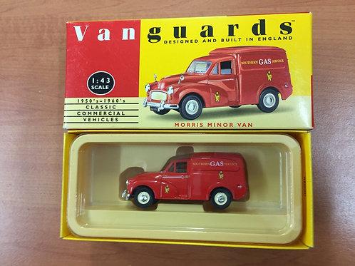 Vanguards - Red Gas Van