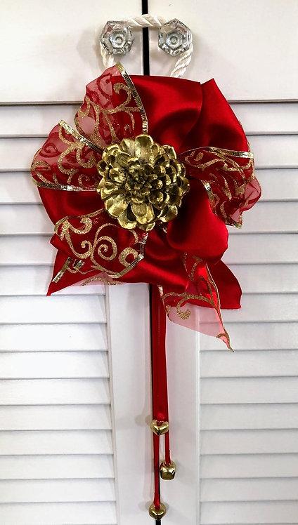 Jingle Bell Door Knob Hanger