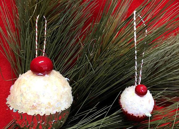 Cupcake Ornaments