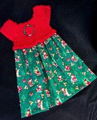Child's Holiday Dress