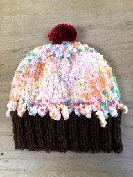 Children's Cupcake Hats