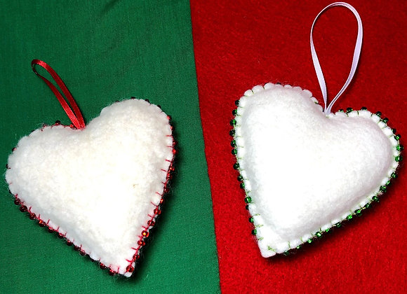 Scented Heart Ornaments