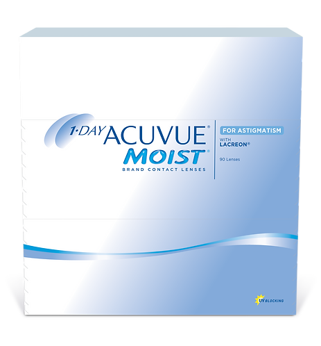 1 DAY MOIST FOR ASTIGMATISM 90 Pack