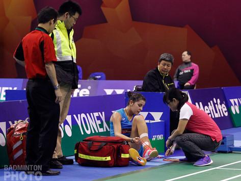 Carolina blessée à 2 mois des Jeux