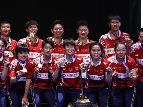 SUDIRMAN CUP 2021 - La Chine pour un 12eme titre