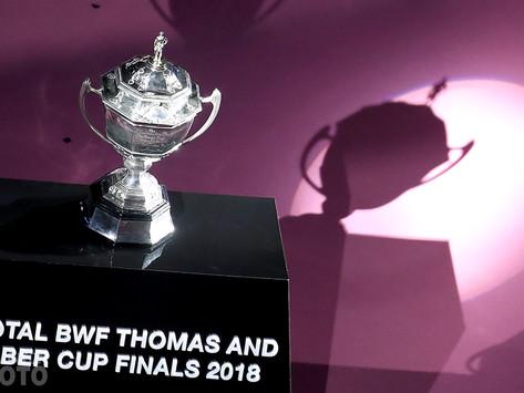 THOMAS & UBER CUP - Reportés à Octobre