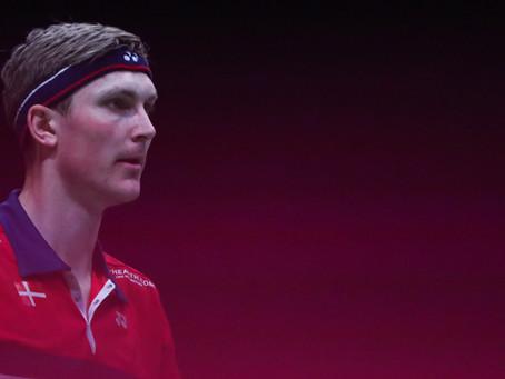 EUROPE 2021 - Axelsen testé à nouveau positif, forfait pour la finale