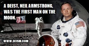 Famous Deist: Neil Armstrong