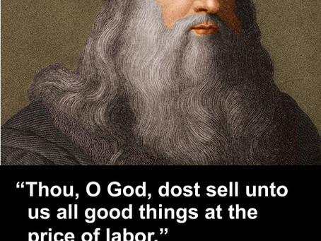 Famous Deist: Leonardo da Vinci