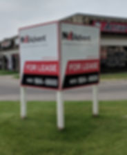 Commercial Real Estate Sign Calgary