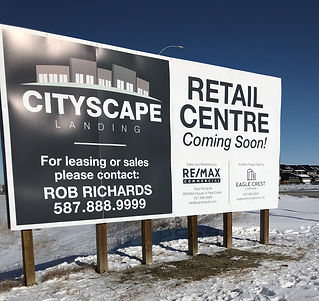 Retail Commercial Coming Soon Sign