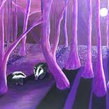 Moonlit Badgers