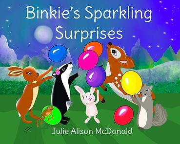 Binkie's Sparkling Surprises Front Cover - JPG.jpg