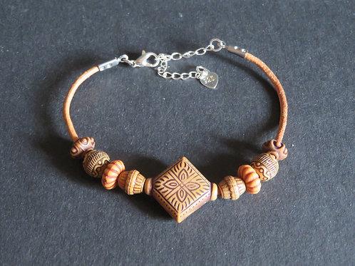 Bracelet dégradé de perles