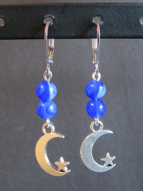 Boucles bleu lune