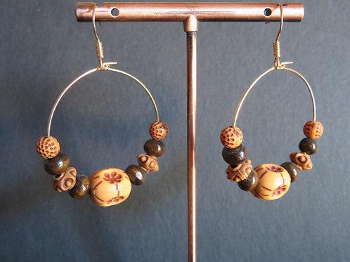 anneaux perles