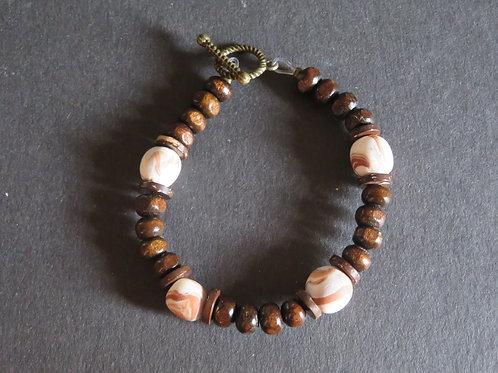 Bracelet coco bois