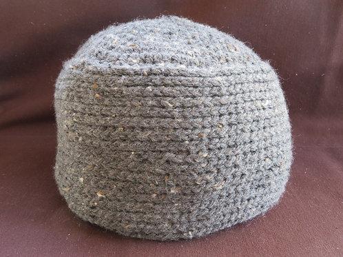 Bonnet adulte gris