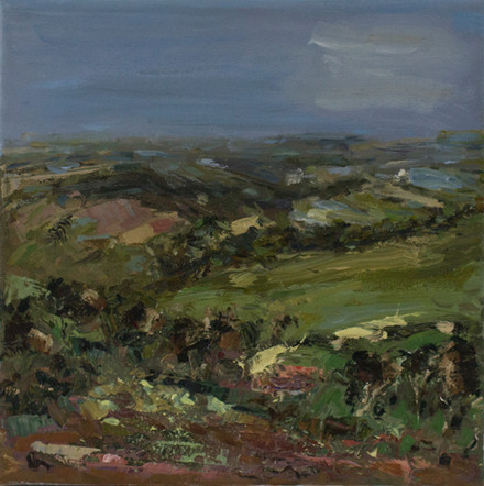 MOORLAND | 25CM X 25CM | OIL ON CANVAS