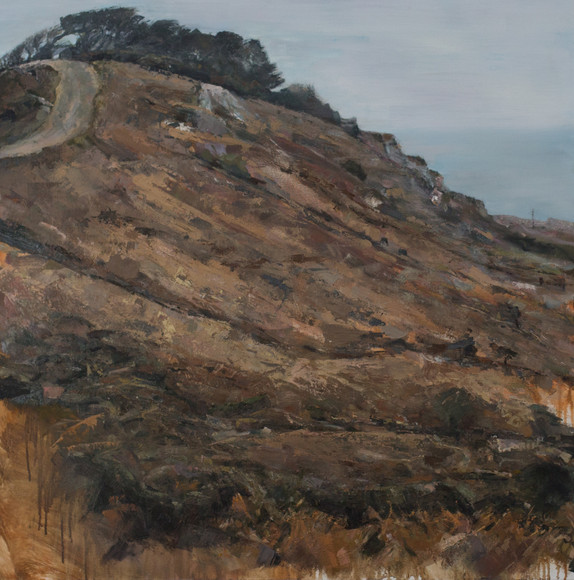 ROAD TO ZENNOR | 100CM X 100CM | OIL ON CANVAS