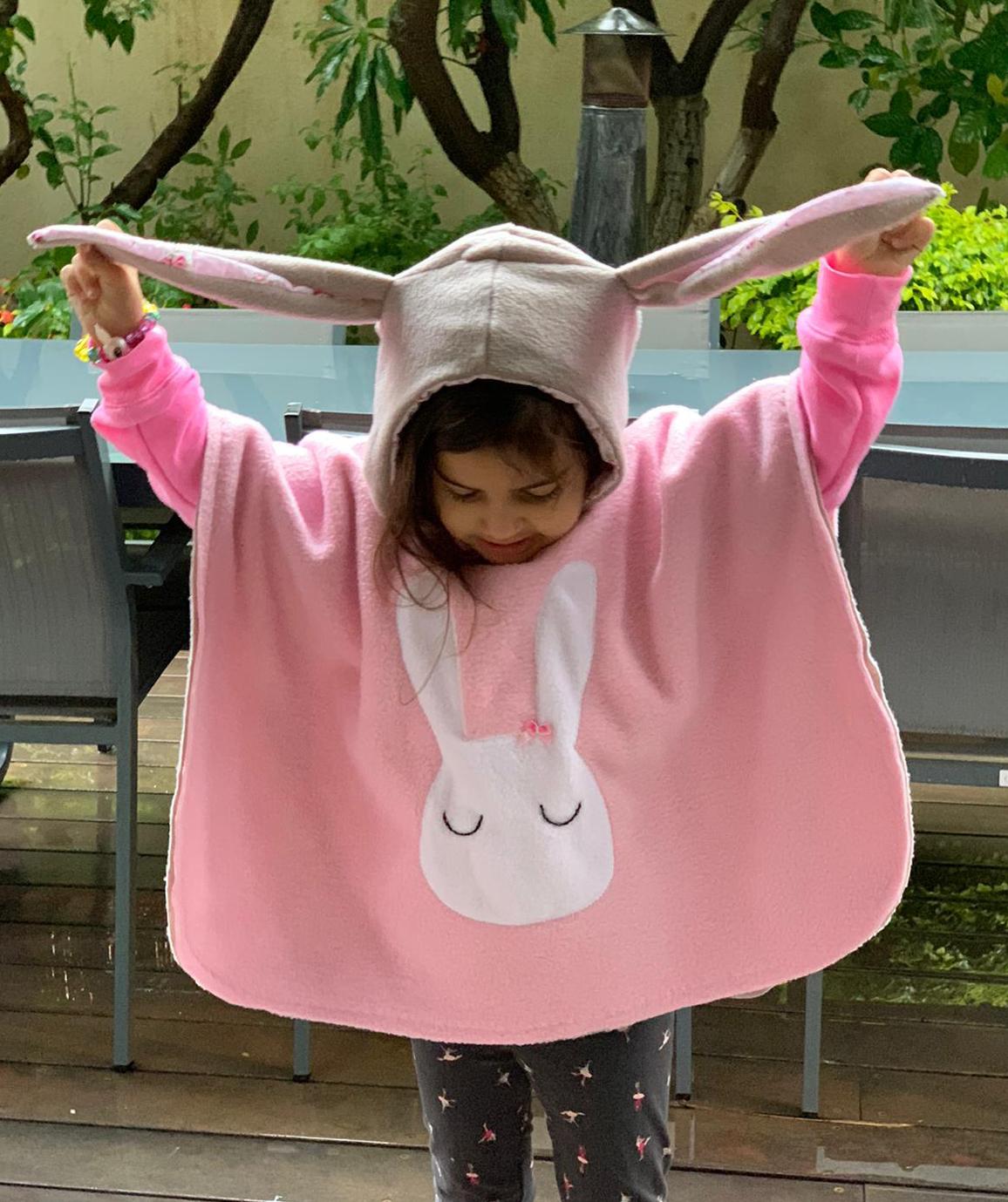 PONCHO M (מתאים מגיל שנתיים עד גיל 4-5)