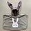 Thumbnail: פונצ׳ו ארנב משובץ