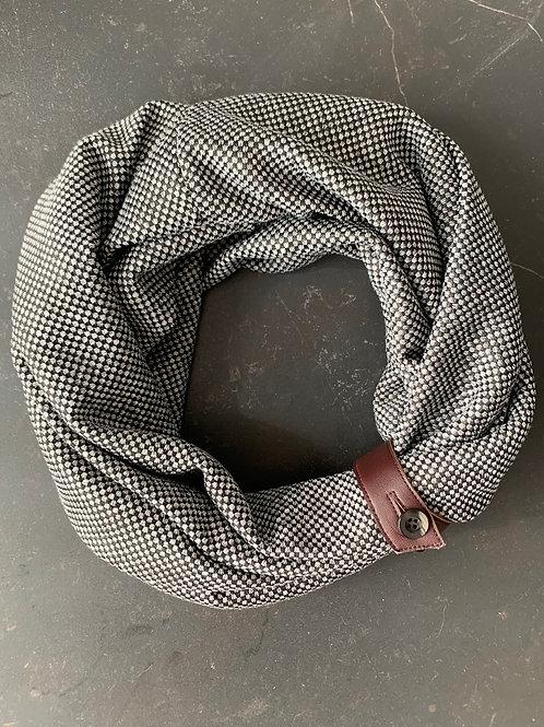 luxury Gray scarf